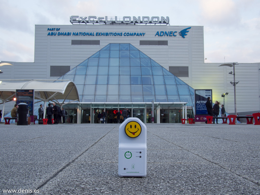 iSocket visited ExCel London
