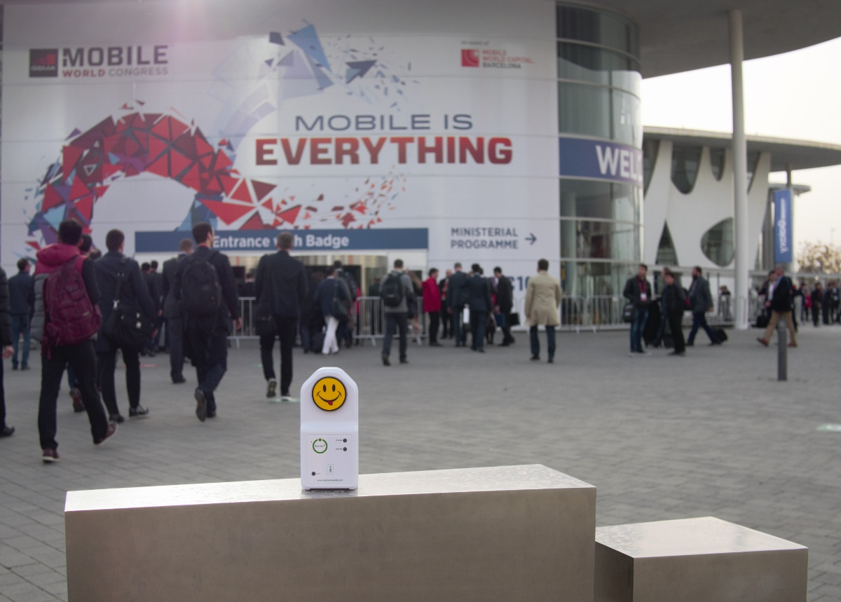 iSocket at the World Mobile Congress 2016
