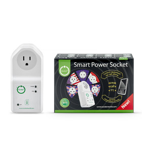 iSocket EcoSwitch - remote power switch for Canada, USA, Mexico
