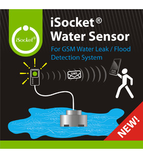 Water alarm with iSocket Water Sensor